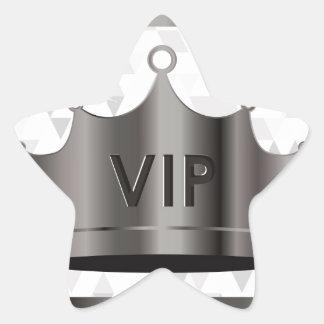 vip design star sticker