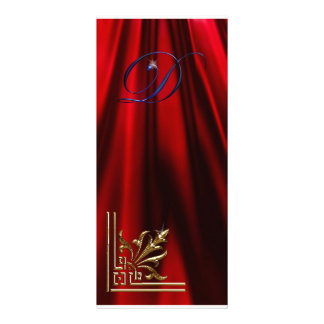 "VIP Gold ""D"" red, blue  Rack Card"
