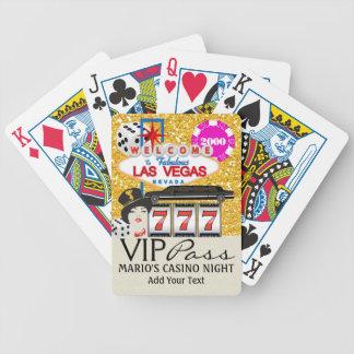 VIP PASS - Vegas - Playing Cards - SRF