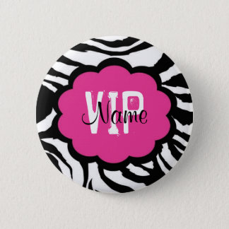 VIP Personalized Birthday Button