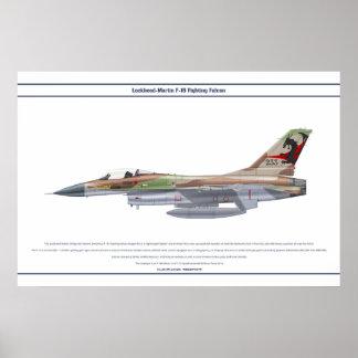 Viper Israel 115 Squadron Poster
