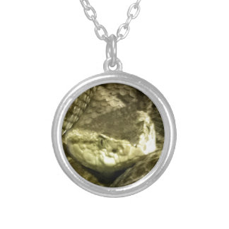 Viper Silver Plated Necklace