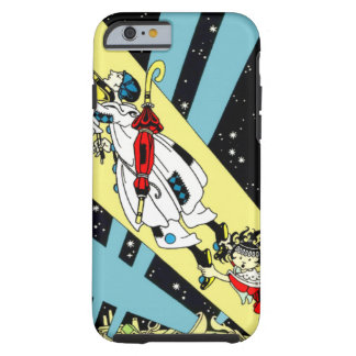 Viperetta Flies to the Moon iPhone 6 Case