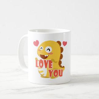 VIPKID Fall in Love Dino Mug