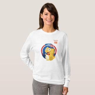 VIPKID Long Sleeve T-Shirt for Teacher Laura