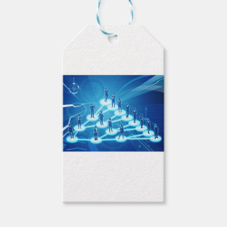 Viral Marketing Business Network Concept Gift Tags