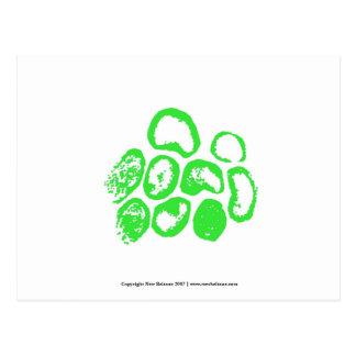 Viral [Small green motif] Postcard