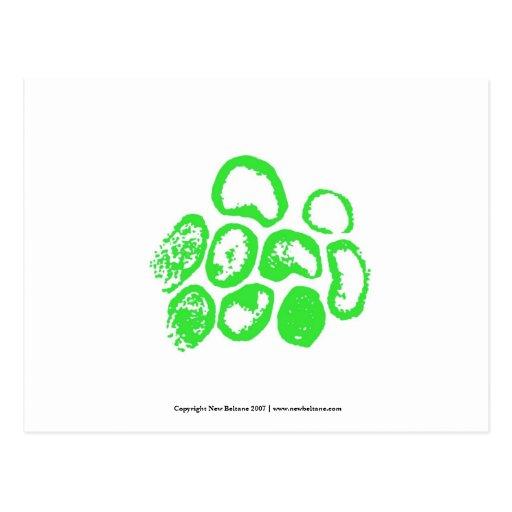 Viral [Small green motif] Post Cards