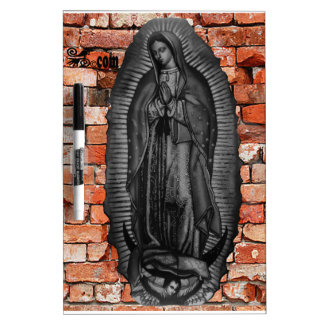VIRGEN DE GUADALUPE  BYW LADRILLO CUSTOMIZABLE Dry-Erase WHITEBOARDS