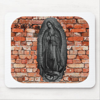 VIRGEN DE GUADALUPE  BYW LADRILLO CUSTOMIZABLE MOUSE PADS