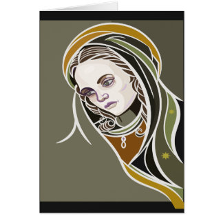 Virgen De Guadalupe Card