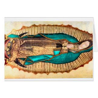 Virgen de Guadalupe Note Card