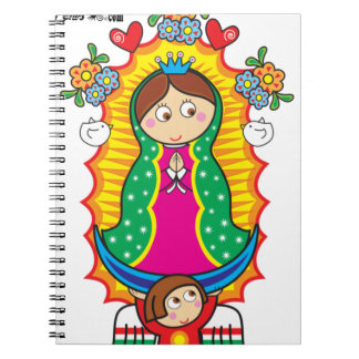 VIRGEN DE GUADALUPE CARICATURA 01 CUSTOMIZABLE PRO NOTEBOOK
