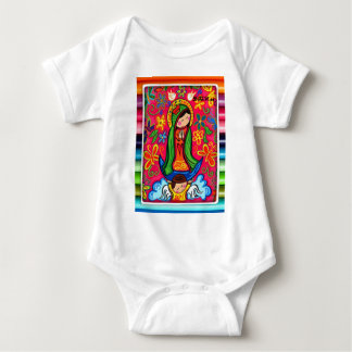 VIRGEN DE GUADALUPE CARICATURA 03 CUSTOMIZABLE PRO BABY BODYSUIT