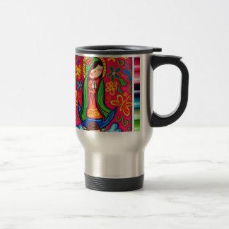 VIRGEN DE GUADALUPE CARICATURA 03 CUSTOMIZABLE PRO COFFEE MUG