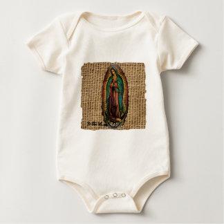 VIRGEN DE GUADALUPE COLOR CUSTOMIZABLE PRODUCTS BABY BODYSUIT