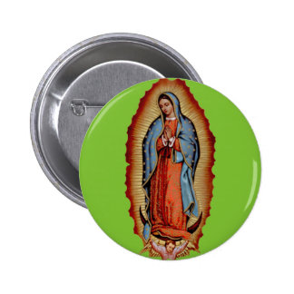 VIRGEN DE GUADALUPE CUSTOMIZABLE COLLECTION BUTTONS