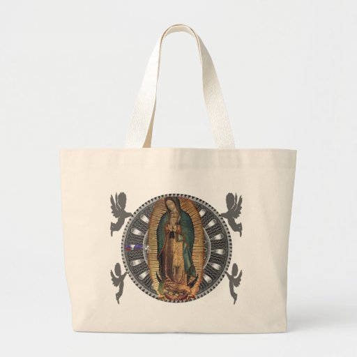 VIRGEN DE GUADALUPE CUSTOMIZABLE PRODUCTS TOTE BAGS