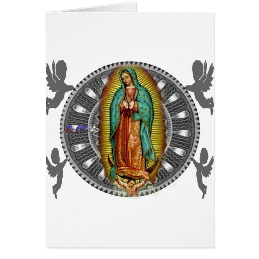 VIRGEN DE GUADALUPE CUSTOMIZABLE PRODUCTS GREETING CARD