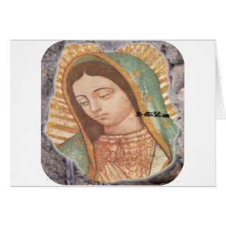VIRGEN DE GUADALUPE  CUSTOMIZABLE PRODUCTS GREETING CARDS