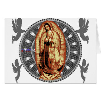 VIRGEN DE GUADALUPE CUSTOMIZABLE PRODUCTS CARD