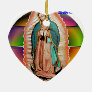 VIRGEN DE GUADALUPE CUSTOMIZABLE PRODUCTS CHRISTMAS ORNAMENTS