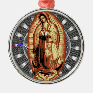 VIRGEN DE GUADALUPE CUSTOMIZABLE PRODUCTS CHRISTMAS ORNAMENT