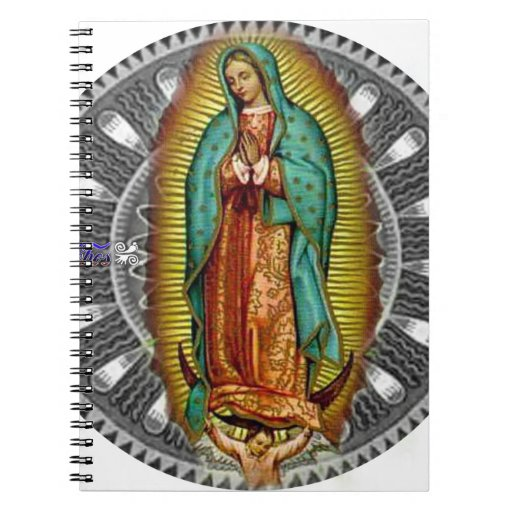 VIRGEN DE GUADALUPE CUSTOMIZABLE PRODUCTS SPIRAL NOTEBOOKS