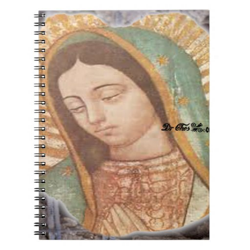 VIRGEN DE GUADALUPE  CUSTOMIZABLE PRODUCTS NOTEBOOKS