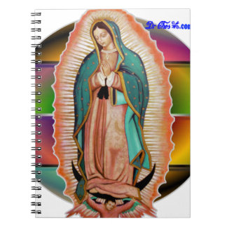 VIRGEN DE GUADALUPE CUSTOMIZABLE PRODUCTS SPIRAL NOTE BOOKS