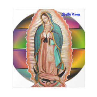 VIRGEN DE GUADALUPE CUSTOMIZABLE PRODUCTS NOTE PADS