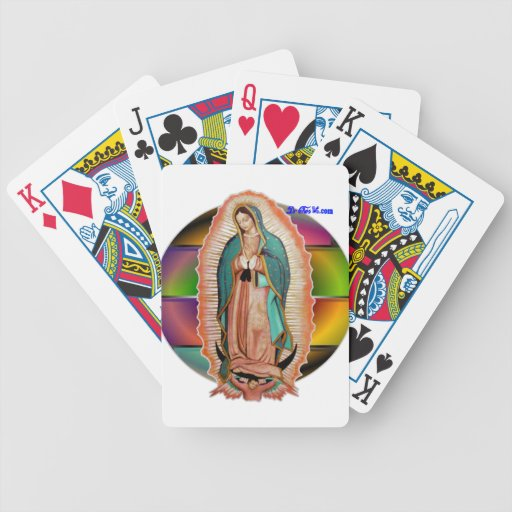 VIRGEN DE GUADALUPE CUSTOMIZABLE PRODUCTS BICYCLE POKER DECK
