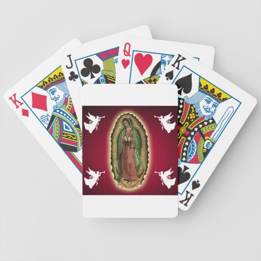 VIRGEN DE GUADALUPE CUSTOMIZABLE PRODUCTS POKER CARDS