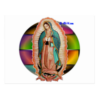 VIRGEN DE GUADALUPE CUSTOMIZABLE PRODUCTS POST CARD