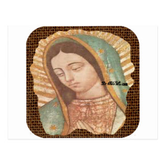 VIRGEN DE GUADALUPE  CUSTOMIZABLE PRODUCTS POSTCARDS