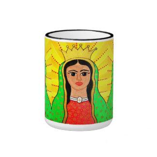 Virgen de Guadalupe design mug