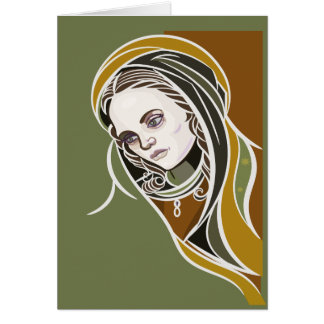 Virgen De Guadalupe  Greeting Card