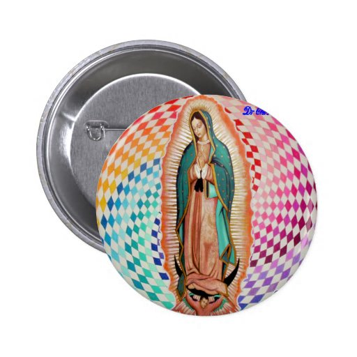 VIRGEN DE GUADALUPE MULTICO CUSTOMIZABLE PRODUCTS BUTTONS