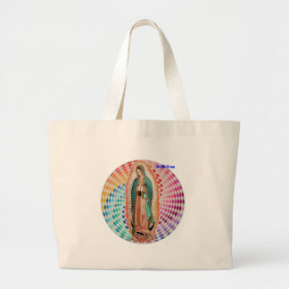 VIRGEN DE GUADALUPE MULTICO CUSTOMIZABLE PRODUCTS TOTE BAGS