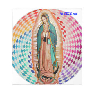 VIRGEN DE GUADALUPE MULTICO CUSTOMIZABLE PRODUCTS NOTE PAD