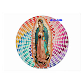 VIRGEN DE GUADALUPE MULTICO CUSTOMIZABLE PRODUCTS POST CARDS
