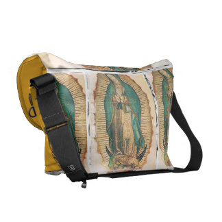 Virgen de Guadalupe (traditional) Courier Bag