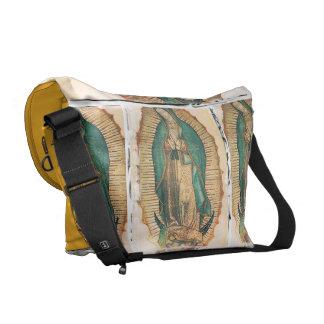 Virgen de Guadalupe (traditional) Messenger Bag