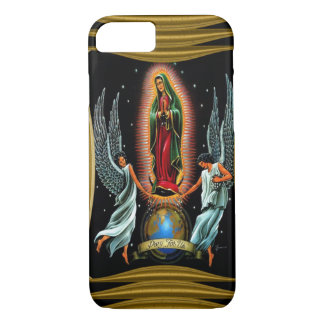 Virgen de Guadalupe (with angels) iPhone 7 Case