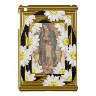 Virgen de Guadalupe (with daisies) iPad Mini Case