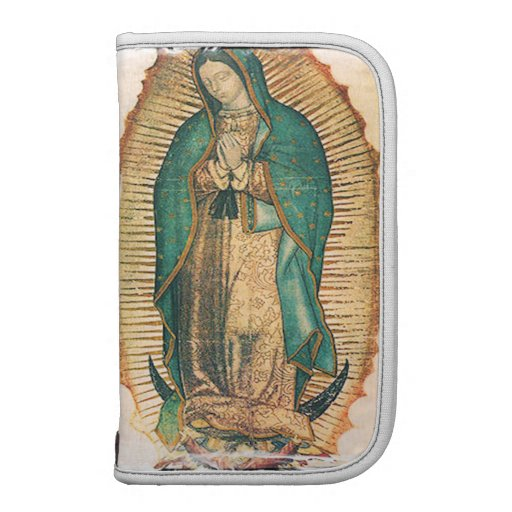 Virgen de Guadalupe with rugged frame Planner