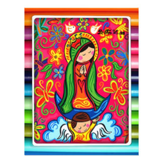 VIRGEN MARIA DE GUADALUPE CUSTOMIZABLE PRODUCTS FULL COLOR FLYER