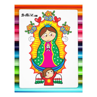 VIRGEN MARIA DE GUADALUPE CUSTOMIZABLE PRODUCTS FLYER DESIGN
