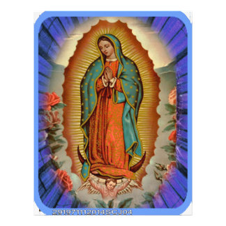 VIRGEN MARIA DE GUADALUPE CUSTOMIZABLE PRODUCTS CUSTOM FLYER