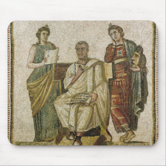 Virgil  and the Muses, from Sousse Mouse Pad